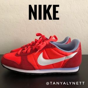 Nike Cortez Neon Red orange sneakers